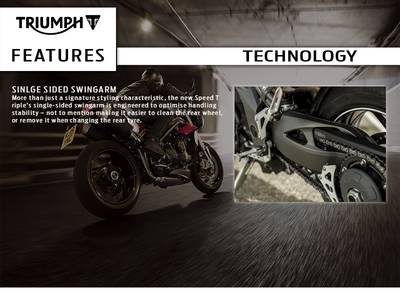 2016 Triumph Speed Triple R ABS Base | Triumph Motorcycles